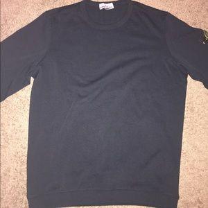 Stone island black sweater